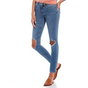 Free People We The Free Busted Skinny Jeans